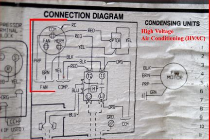 how to wire a capacitor to an ac unit ac motor capacitor wiring ac motor kit picture