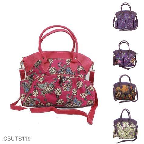 Tas Besar tas elvi besar multifungsi motif curan bunga tas wanita murah batikunik