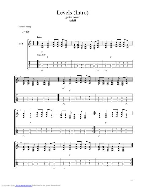 Collection of Avicii Chords | Avicii Quot The Days Quot Chordistry ...