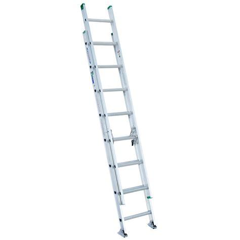 werner aluminum extension ladder grade 2 225 load