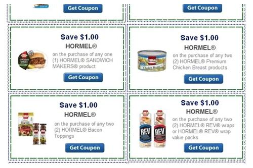 hormel coupon codes