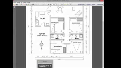 como hacer un plano como hacer el plano de una casa en autocad