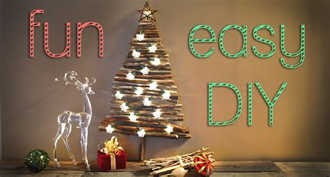 easy diy tree decorations how to decor diy san diego interior