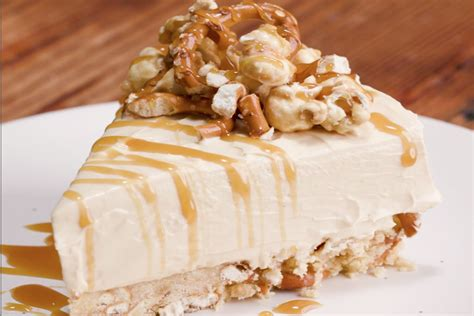bake salted caramel cheesecake recipe  idea food