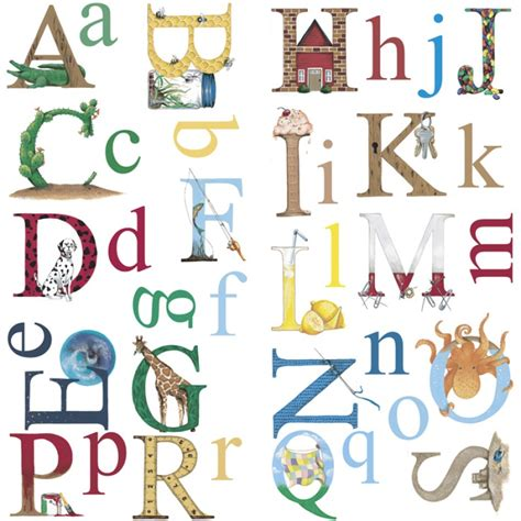 alphabet wall stickers 2017 grasscloth wallpaper - Wall Stickers Alphabet Letters