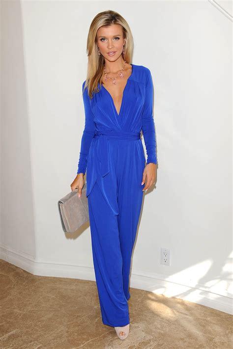 Jumpsuit Blue cobalt blue jumpsuit wow cobalt blue