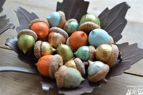 cute fall autumn acorn nut pattern christmas ornaments 15 fall crafts for kids simple life mom