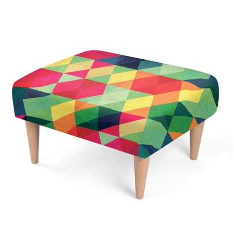 funky ottomans uk cool footstools personalised custom made footstools uk