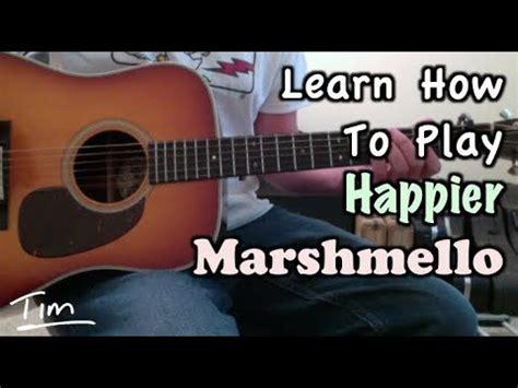 marshmello ukulele chords marshmello happier guitar lesson chords and tutorial