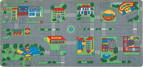 carpet city rugs streets play mats for play rug for cars more