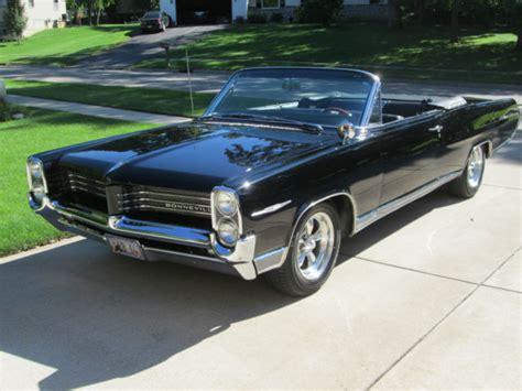 1964 Pontiac Bonneville Convertible by 1964 Pontiac Bonneville Convertible Black Classic