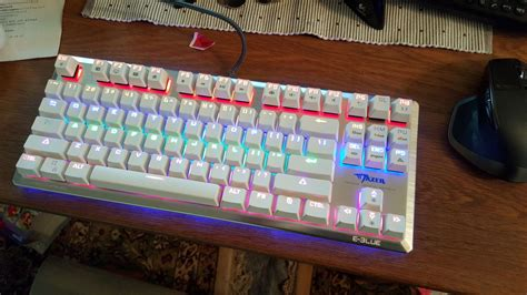 Keyboard Gaming E Blue Mazer K727 Mechanical Backlit e blue mazer k727 mechanical gaming keyboard bjorn3d