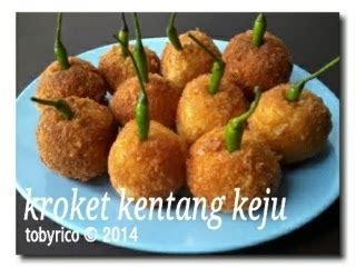 tobyrico s kitchen kroket kentang keju