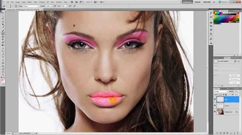 photoshop makeup tutorial photoshop cs5 makeup tutorial hd youtube
