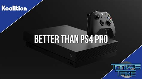 ps4 or xbox one better aaron greenberg says xbox one x is better than ps4 pro