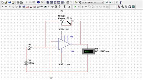 integrator circuit on multisim integrator circuit using lm741 28 images op integrator operational lifier integrator