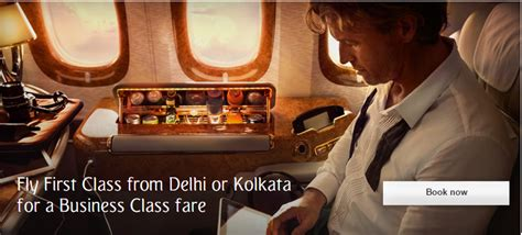 emirates upgrade offer email emirates offering first class upgrades on business class