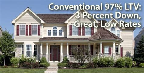 conventional house loan conventional loan 3 down available for buyers of 1 unit homes