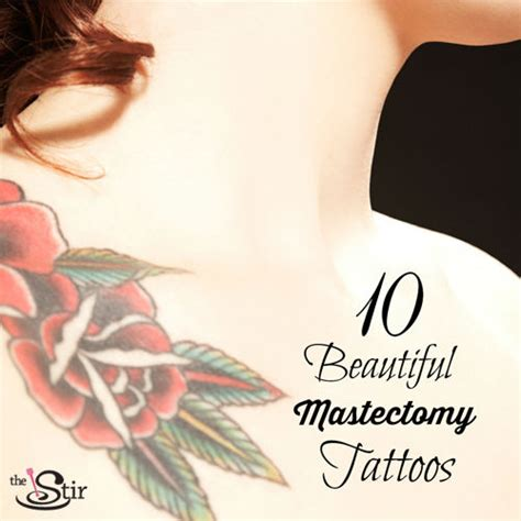mastectomy tattoo beautiful mastectomy tattoos