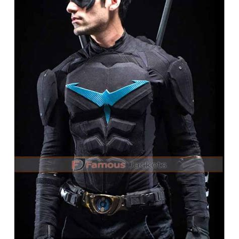 bike leathers for sale nightwing leather motorcycle jacket costume for sale