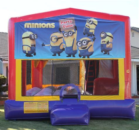 Minion Bounce House by 1 Jump And Shout Inflatables Jumper Bounce House Jumper