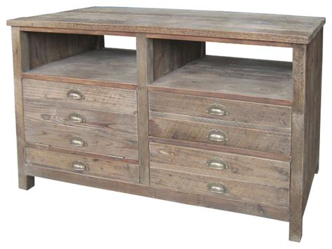 Media Drawers by Betty Small Tv Console 3 Drawers 1 Door Rustic Media