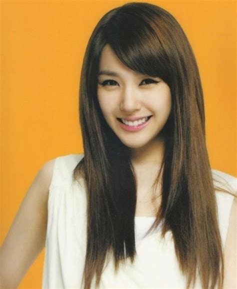 kpop hairstyles bangs side swept bangs hair pinterest snsd ulzzang and kpop
