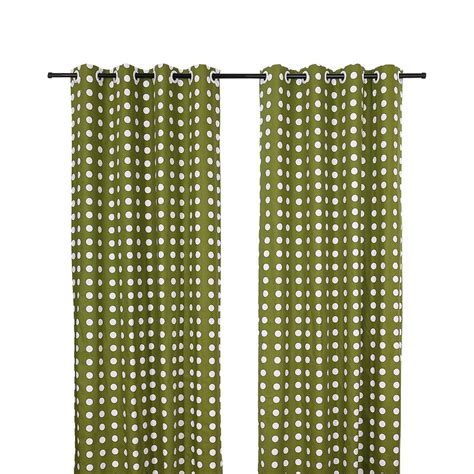 polka dot bedroom curtains green polka dot print linen cotton blend custom bedroom