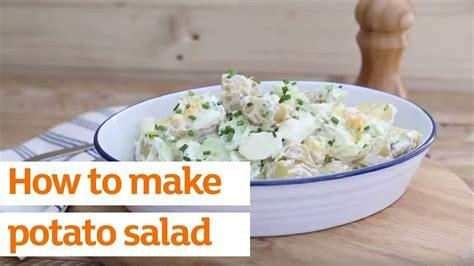 how to make potato salad recipe sainsbury s youtube