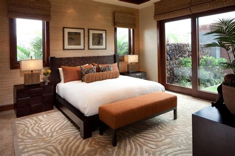 earthy bedroom ideas hualalai earthy haven modern bedroom hawaii by