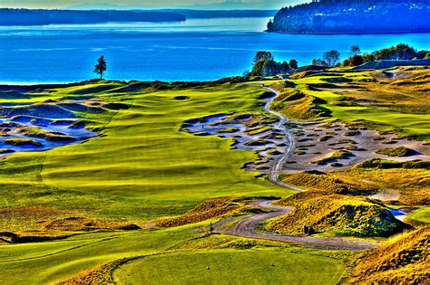 5 at chambers bay golf course location of the 2015 u s