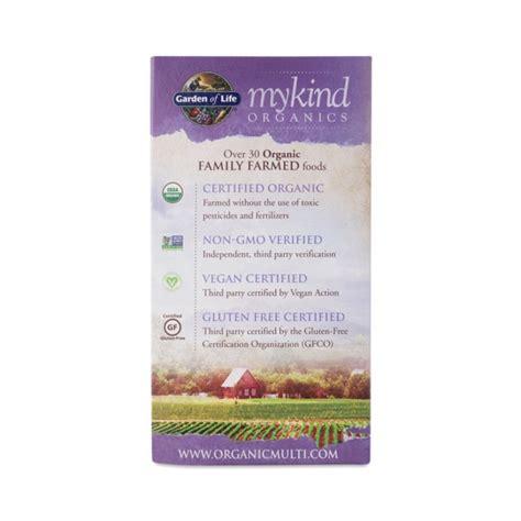 Garden Of Mykind Prenatal Review 180 Ct Mykind Organics Prenatal Multi Vitamin Thrive Market