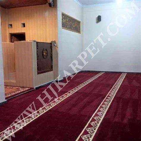 Karpet Masjid Bogor pemasangan karpet masjid as salafiah lido bogor hjkarpet