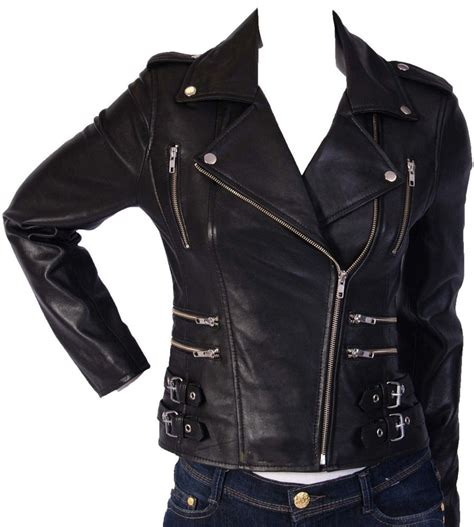womens leather motorcycle jacket genuine lambskin leather motorcycle jacket slim