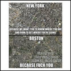 Boston Meme - fridge fun refrigerator magnet new york boston f ck you