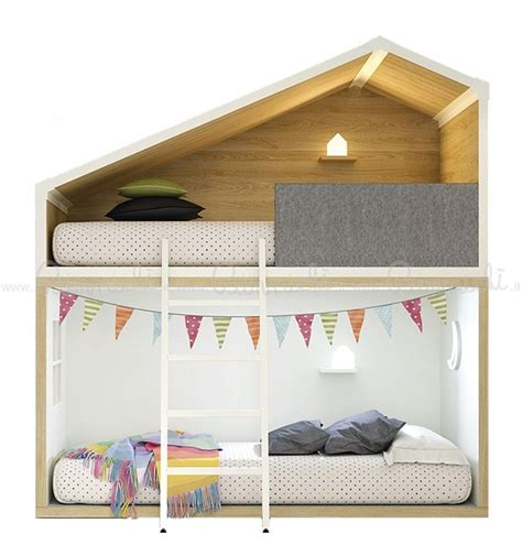 cottage bunk beds lagrama bunk bed cottage white