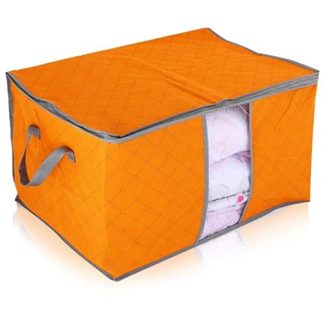 Storage Bag Flower Box Jumbo Cloth Cover Bed Organizer quilt blanket pillow clothes underbed storage bag box container non woven fabric ebay