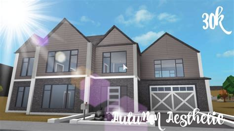 lovely bloxburg home suburban homes   house