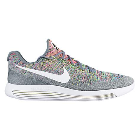 Sepatu Terlaris Nike Lunar Epic 2 nike lunarepic low flyknit 2 s running shoes cool grey white volt blue glow