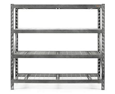 gladiator tool  heavy duty shelving rack garage