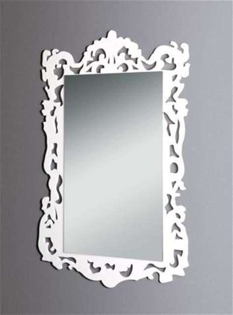 cornici plexiglass specchio con cornice in plexiglas bianco vetrina s p