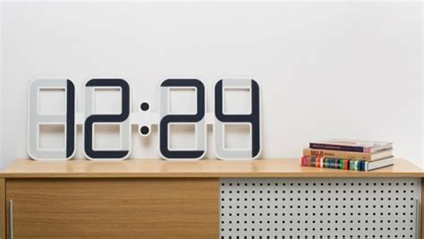 Horloge Géante Pas Cher g 233 nial deco salon moderne avec horloges digitales murales