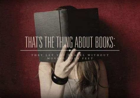 that s the thing about books inspirational quote