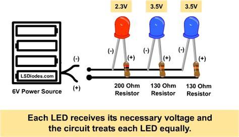 dropping resistor function redno povezivanje led dioda na 12v www samsvojmajstor
