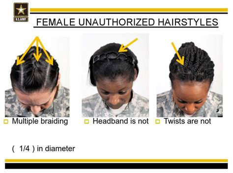 female haircut army regulations black female soldiers say the army s new hair rules are racist