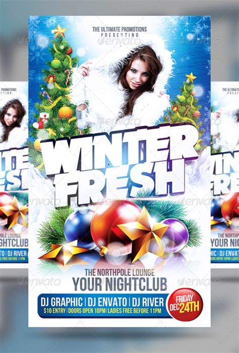 graphicriver flyer psd graphicriver winter party flyer avaxhome