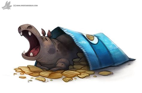 house hippo daily painting 924 north american house hippo by cryptid creations on deviantart