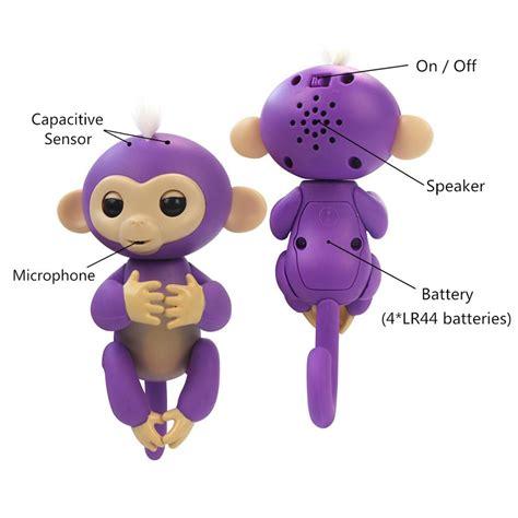 Mainan Interaktif Fingerlings Monkey Smart Blue fingerlings interactive baby monkeys shoplikeumeanit inc 174 superstore