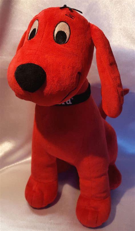 clifford the big stuffed animal clifford the big plush stuffed animal kohls cares 14 quot ebay