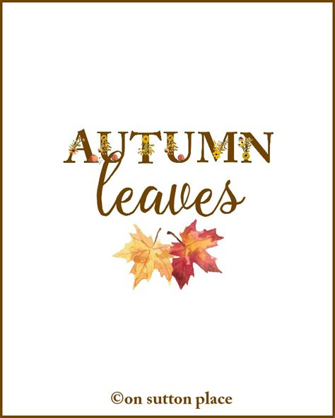 printable leaves with letters fall floral alphabet printables banners diy wall art